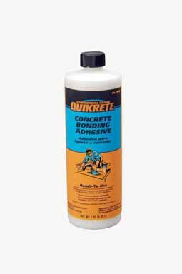 Concrete Bonding Additive - Quikrete 990201 Concrete Bonding Adhesive, 1 QT (0.95 L)