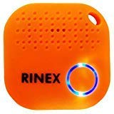 Rinex Bluetooth Key Finder Keychain GPS Tracker for Keys with App – Tracking Device for Phone, Keys, Luggage, Backpacks, Wallets, More – Bluetooth Anti-Lost Device Locator Tags – GPS Tracking Chip