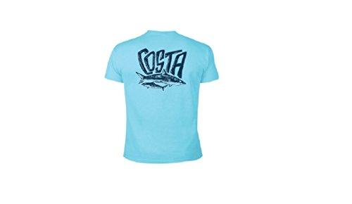 Costa Del Mar - OCEARCH Marine Short Sleeve Shirt (M, Sky Blue)