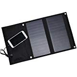 14W Portable Foldable Solar Cell Phone Chargers Folding Sunpower Solar Panel 5V 2.1A USB Output for iPhone iPad Samsung HTC...