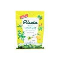 Ricola Herb Throat Drops Natural Lemon Mint - 24 Ea/Pack 24 Packs/Case