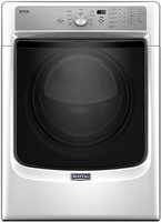 Maytag MED5500FW - Dryer - freestanding - width: 27 in - depth: 31 in - height: 39 in - front loading - white