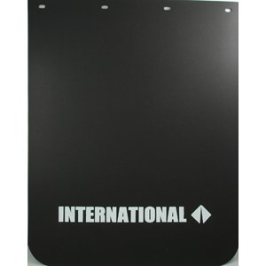 Semi Truck Mud Flaps >> International Semi Truck Logo 24 X 30 Black Polyurethane Mud Flaps Pair