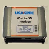 USA SPEC (PA15-GM) iPod to Factory Radio Wired Music Interface with AUX (RCA) Port for 03-06 GM Class 2