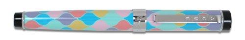 ACME Studios Standard Rollerball Pen Spring, Blue/Purple/pink/Yellow (PZ04R)