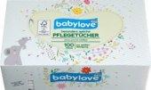 1 x 100 St babylove Baby-Pfleget/ücher