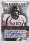 B.J. Symons (Football Card) 2004 Upper Deck Foundations - Signature Foundations - Autographs [Autographed] #SF-BJ