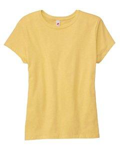 Hanes Women's T-Shirt - 3X-Large - Daffodil Yellow