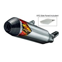 FMF Racing Factory 4.1 RCT Slip-On - Aluminum Muffler , Color: Aluminum, Material: Aluminum 041507