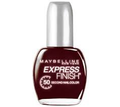 Maybelline New York Express Finish 50 Second Nail Color, 0.5 Fluid Ounce (Mocha blast)