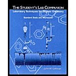 Students Companion : Laboratory Techniques for Organic Chemistry, Lehman, John W., 0130178675