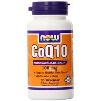 NOW Foods CoQ10 100mg with Hawthorn Berry - 90 - Hawthorn Mall