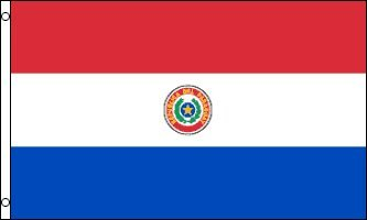 Paraguay 3x5 National Flag World Cup 3'x5' Banner Flags Unli