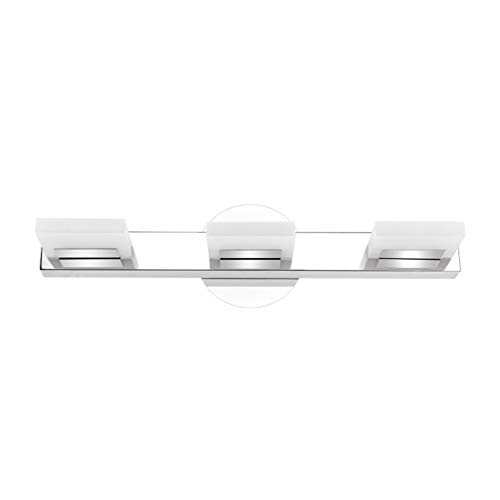 Aipsun Modern LED Vanity Light 3 Lights Bathroom Vanity Light Acrylic Bathroom Vanity Lighting Fixtures for Bathroom…