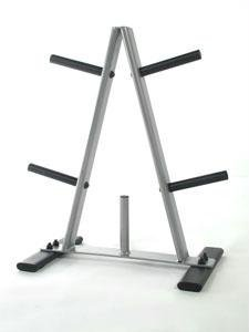 CAP Barbell Oval Tube Regular 1'' Plate Rack by CAP Barbell