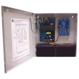 Altronix AL400ULM 5 Output Power Supply/Charger w/Fire Alarm Disconnect - 12VDC @ 4 amp or 24VDC @ 3 amp, PTC Class 2 power limited outputs, encl. 13.