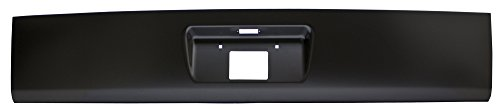 IPCW Black CWRS-00TAH 2000-2006 Chevrolet Suburban/Tahoe, GMC Yukon XL Denali Steel Roll Pan, with License Plate Cut-Out & Light