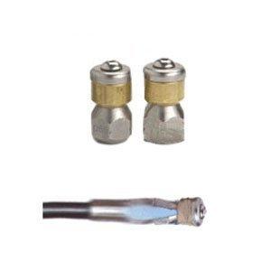 Suttner ST-49 Sewer Nozzle, Size 5.5, 1/4'', 3000 psi, 90 deg by Suttner America Company