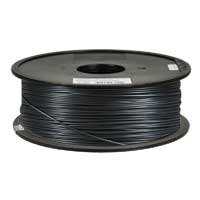 Inland 1.75mm Black PLA 3D Printer Filament - 1kg Spool (2.2 lbs) by Inland