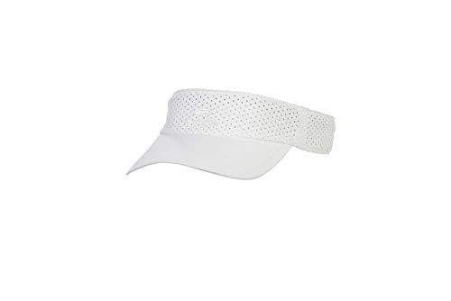 Cobra Golf 2019 Women's Snake Adjustable Visor (White)