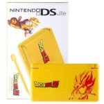 [Limited Edition Nintendo DS Lite Portable Entertainment Console Refurbished with EU Charger (Yellow) - DragonBall Z] (Nintendo Ds Dragon Ball)