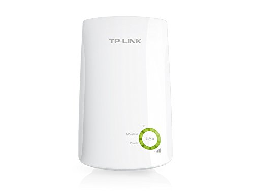 TP-Link N300 Universal Wireless Wi-Fi Range Extender, Wall Plug, Plug and Play, Smart Signal Indicator Light (TL-WA854RE)