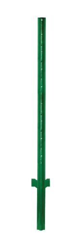 Origin Point Brands 100007 Heavy Duty Fence Post, 7-Feet, Green Anchoring Fence Posts