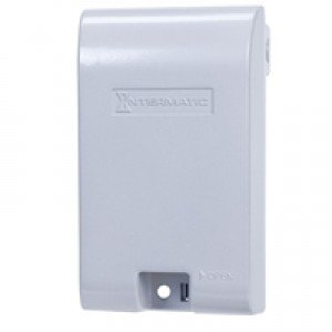Intermatic WP1010MXD Electrical Box, Weatherproof Extra Duty Die Cast Cover - 1-Gang-2PK