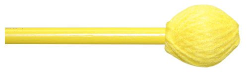 Mike Balter BB1 Basics Series Hard Keyboard Mallets with Birch Handles and Yellow Yarn Head (Keyboard Mallets Series Medium)
