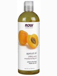 Edible 16 Oz Now Foods (Now Foods Apricot Kernel Oil - 16 oz. (Edible) 12 Pack)
