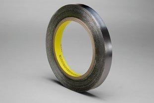 3M Lead Foil Tape 421 Dark Silver, 1/4''x 36 yd. 6.3 mil