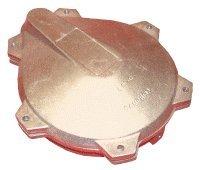 Campbell Martinson LP-6-1 6'' Locking Watertight Cap, Aluminum