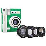 Lomo Automat Cabo Verde and Lenses – Green w/White Polka Dots