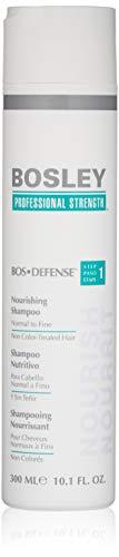 Bosley Bos-Defense Nourishing Shampoo Normal To Fine Non Color-Treated Hair, 10.1 oz