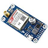 ALLPARTZ Waveshare NB-IoT/eMTC / Edge/GPRS / GNSS HAT for Raspberry Pi, for Europe, Africa, Australia, Southeast Asia