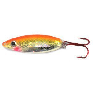 Northland Tackle BRS7-24 Buck-Shot Rattle Spoon Bait, Super-Glow Chub, 3/4 oz ()
