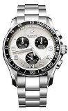 Victorinox Men's Chrono Classics Swiss Silver/Stainless Steel Watch (Swiss Mens Classic)