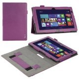 Lenovo ThinkPad 2 Case - Poetic Lenovo ThinkPad 2 Case [BaseBook Series] - [Slim-fit] [Professional] PU Leather Slim Folio Case for Lenovo ThinkPad 2 Purple (3 Year Manufacturer Warranty From Poetic)