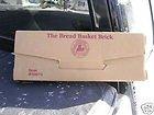 Longaberger Pottery Bread Basket Brick