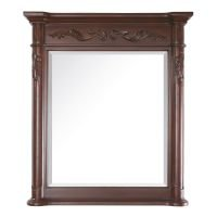 (Avanity Provence 36 in. Mirror in Antique Cherry finish)