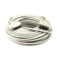 Monoprice 101588 100-Feet DB25 M/M Molded Cable (101588)