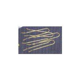 ALCIUMPECHE Attache laiton par 50 - SWISA1 - pour moules à plombs