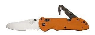 Benchmade 915S Triage Orange Handle, Outdoor Stuffs
