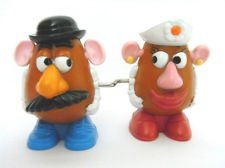 Mcdonalds Disney Pixar, Toy Story 2, Mr & Mrs Potato Head #2 1999 (Disney Potato Mr)