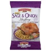 Amazon Com Pepperidge Farm Sage Onion Stuffing 12oz Bag Pack Of 2 Packaged Stuffing Side Dishes Grocery Gourmet Food