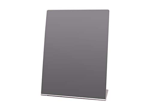 Marketing Holders Free Standing Single Sided Self-Portrait Mirror - 8 1/2 x 11 inches Qty 20