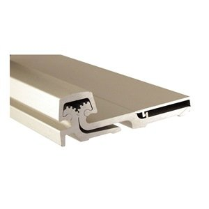 Pemko Heavy Duty Full Surface Hinge, Clear Anodized Aluminum, 95'' L by Pemko