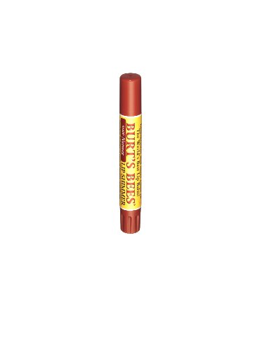 Burt's Bees Lip Shimmer, Nutmeg, .09-Ounce Tubes (Pack of 4) by Burt's Bees