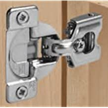 "Grass Tec Soft-close Hinge Face Frame Hinges with Integrated Soft-close (45mm 3/4""  inch OL)"
