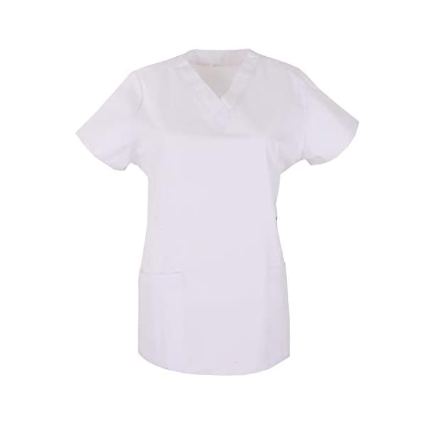 MISEMIYA Medical Uniform Scrub Top Camisa de Sanitario Unisex Adulto 1